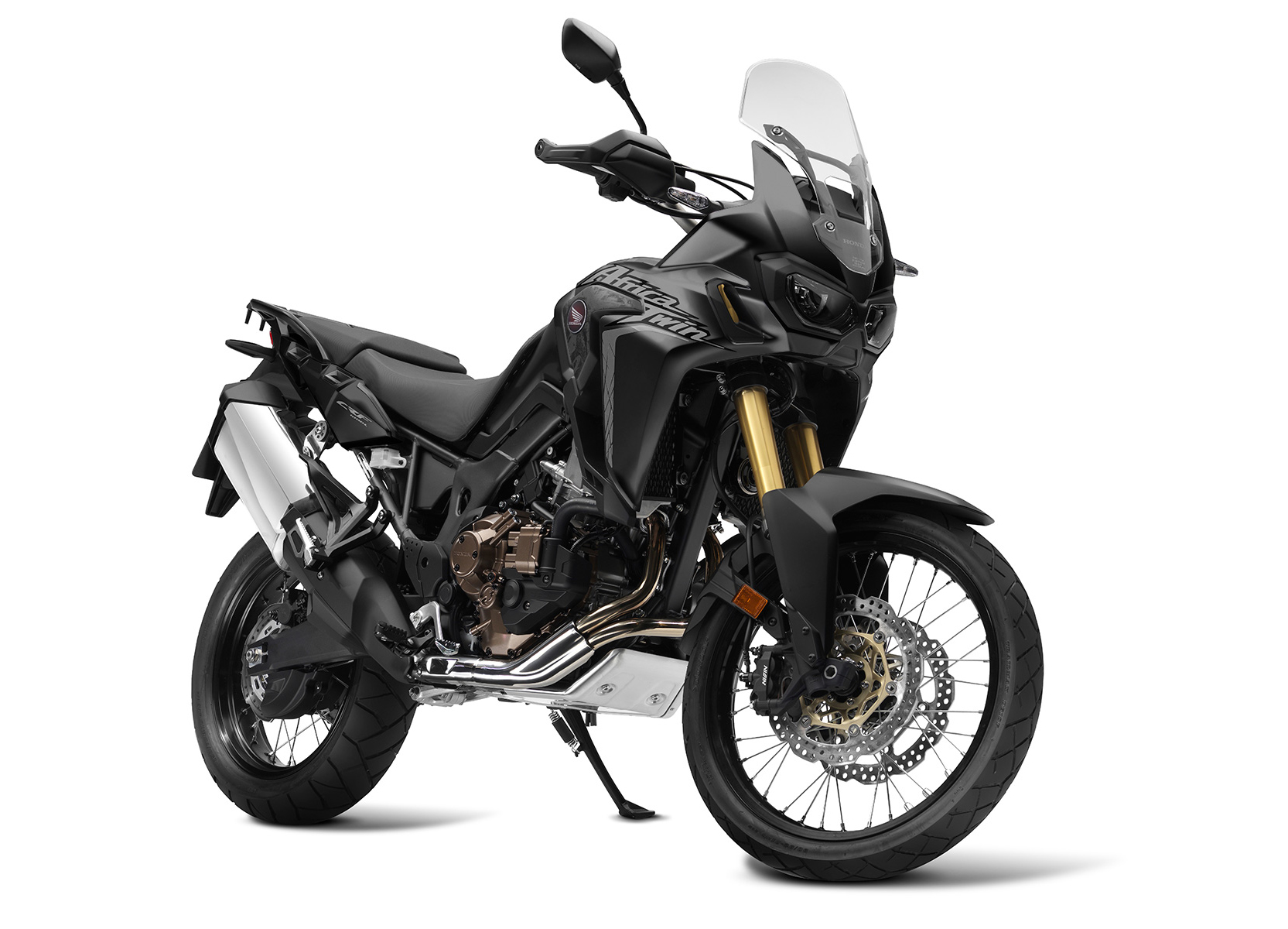 Honda Africa Twin Matt Ballistic Black Metallic